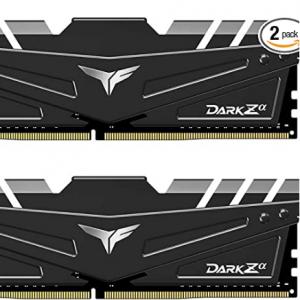 Amazon - Team T-FORCE DARK Za 16GB (2 x 8GB) DDR4 3600 C18 內存,現價$65.99,