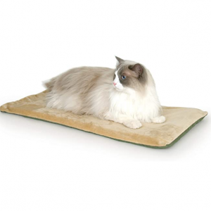 K&H Pet Products Thermo-Kitty Mat Heated Pet Bed @ Amazon