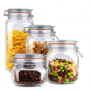 4-Piece Canister Set by Home Basics @ Home Depot