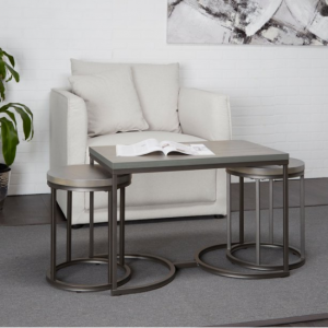 Adornments 3 Piece Nesting Coffee & Side Tables @ Walmart