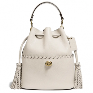 25% off Coach Lora Whipstitch Leather Bucket Bag @ Nordstrom