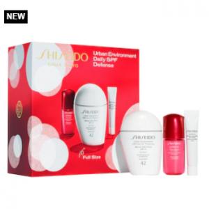 Sephora上新!Shiseido资生堂白胖子防晒套装 相当于3折