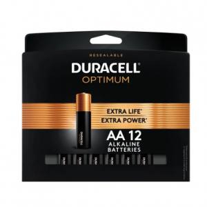 Duracell 12-Pack Duracell Coppertop Batteries (AA/AAA) @ Office Depot and OfficeMax