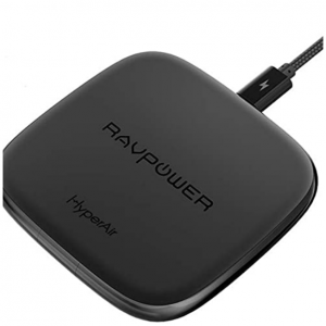 $7 off Wireless Charger RAVPower, 10W Fast Charging Pad for Galaxy S9+ @Amazon