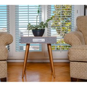Sierra 現代風格小木桌,內置揚聲器 @ Woot