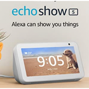 £36 off Certified Refurbished Echo Show 5 | Compact smart display with Alexa for Prime @Amazon UK