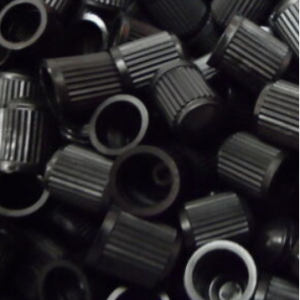 100 x Black Plastic Replacement Dust Caps/Stems for Cars,Bikes,Tractors @eBay UK