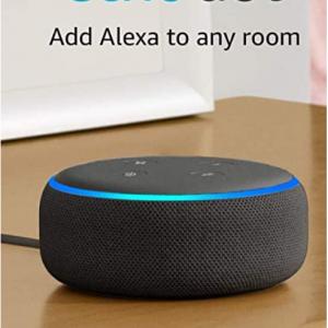 Amazon - Echo Dot 3代智能音箱大促,立減$15
