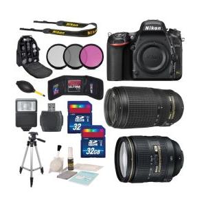 Nikon D750 Digital SLR Camera Body + Nikon AF-S NIKKOR Bundle $2,279 shipped