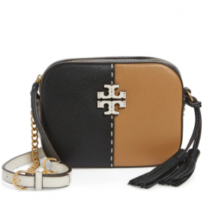 40% off Tory Burch McGraw Colorblock Leather Camera Bag @ Nordstrom