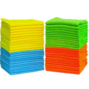 "50 Pack - SimpleHouseware Microfiber Cleaning Cloth (12"" x 16"") @ Amazon"