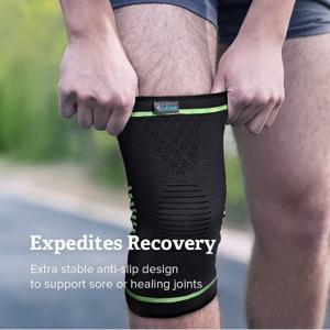 Sable Knee Brace 男女用运动护膝 适用于关节炎、ACL、跑步、缓解疼痛、伤害恢复、篮球等运动 @ Amazon