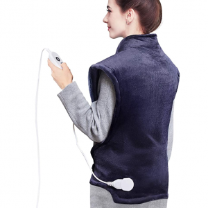 Homech HM-BD005 电加热法兰绒背心毯,35 x 27英寸 @ Amazon