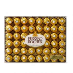Ferrero 費列羅堅果巧克力 21.2 oz 48顆裝 僅需$11.29
