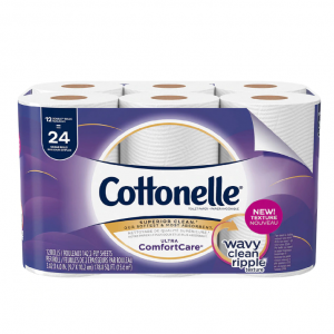 Cottonelle 超柔软双层卫生纸 142片/卷 12卷 @ Walgreens