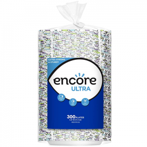 Prime Member get extra 20% off Encore Ultra Paper Plates, 6.87 Inch, 600 Count @ Amazon