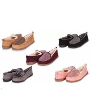 Floopi 女士保暖豆豆鞋 毛毛鞋 碼全 @ Groupon