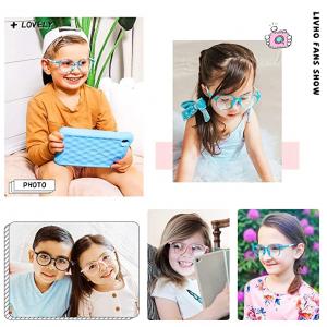 Livho 兒童防藍光眼鏡,3-15歲適用 @ Amazon