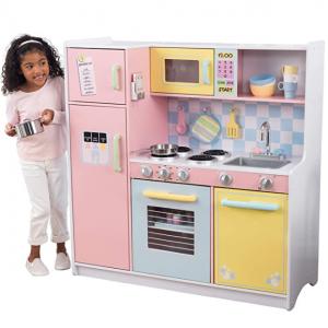 KidKraft 大号儿童现代化小厨房套装 @ Amazon