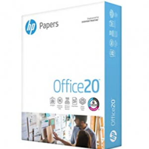 "Amazon - HP 8.5x11"" 複印打印紙 500張,5.9折"