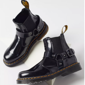 $50 off Dr. Martens Wincox Polished Smooth Leather Buckle Boot @ Urban Outfitters