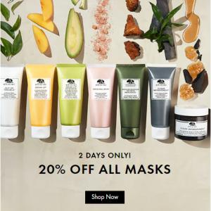 Mask Sale @ Origins