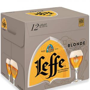 7% off Leffe Blonde Belgium Abbey Beer Bottle, 12 x 330ml @Amazon UK