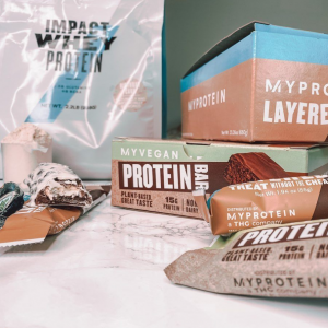 Myprotein 乳清蛋白粉、健康小零食等促销