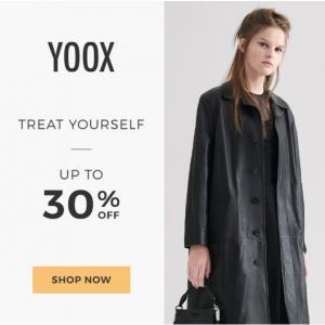 Up to 30% off Halloween Remix Sale @ YOOX