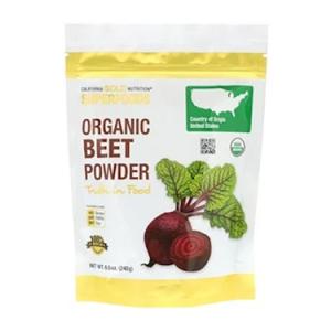 California Gold Nutrition, 超級食品,有機甜菜粉 ,8.5盎司(240克) @ iHerb