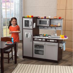 KidKraft 豪华儿童小厨房,包含30件仿真食品 @ Walmart