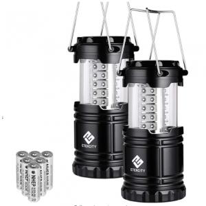 Etekcity LED 露營燈2個帶電池  @ Amazon