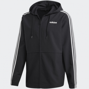 eBay US官网 adidas Essentials 3-Stripes 男士连帽外套热卖