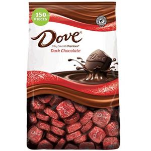 Dove Promises 巧克力家庭装 43.07oz 150颗 @ Amazon