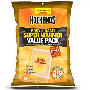 HotHands 暖宝宝10只装 保暖可长达18小时 @ Amazon
