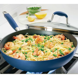 """Anolon Advanced Home Hard-Anodized 12"""" Nonstick Ultimate Pan @ Macy's"""