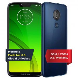 Motorola Moto G7 Power 32 GB Unlocked $131.99 shipped @ Amazon