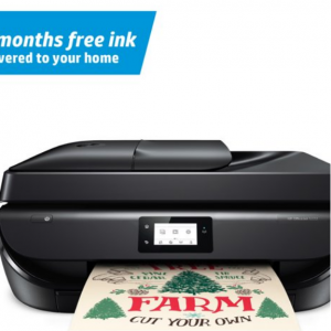 $60 off HP OfficeJet 5222 All-in-One Wireless Color Inkjet Printer – Instant Ink Ready @Walmart