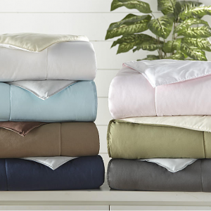 Black Friday Doorbusters: Heart & Home Premium Down Alternative Reversible Comforter @ Sears