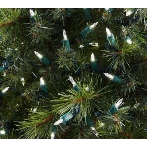 300-Light LED Mini Constant-On White String Lights by Home Accents Holiday @ Home Depot