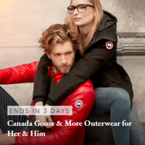 Up to 72% off Canada Goose & More Outerwear for Her & Him @ Rue La La