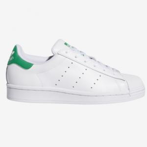 Champs Sports官網 adidas Originals SuperStan 大童款綠尾小白鞋熱賣
