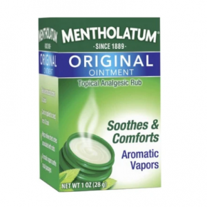 Mentholatum Original Ointment Soothing Relief, Aromatic Vapors - 1 oz $5.90 shipped
