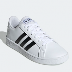 eBay US官网 adidas Grand Court 大童款板鞋热卖 三色可选