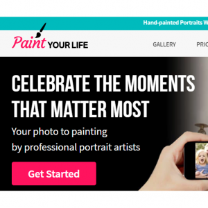 PaintYourLife - $50 Off your Valentine`s paintings