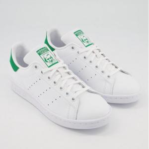 OFFICE UK官網 adidas Stan Smith綠尾大童款小白鞋4折特賣