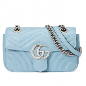 Gucci Mini GG 2.0 Matelassé Leather Shoulder Bag @ Nordstrom