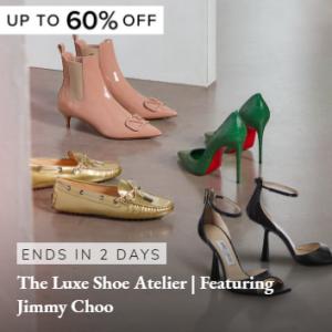 Up to 60% off The Luxe Shoes Sale @ Rue La La