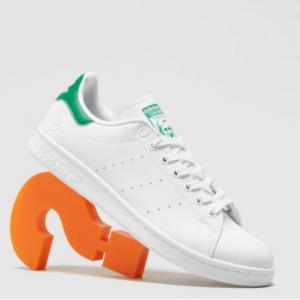 Size.co.uk官网 adidas Originals Stan Smith Vegan 女款小白鞋53折热卖