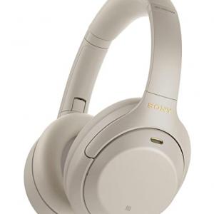 Amazon - Sony WH-1000XM4 主動降噪無線耳機 雙色可選 , 7.9折